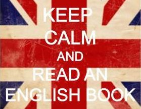 keep calm read in English