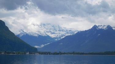vers le Valais... le mauvais temps