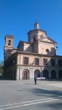 L'église San Lorenzo qui abrite la chapelle de San Firmin