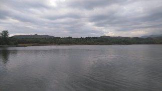 La retenue de la Grajera, à la sortie de Logroño.