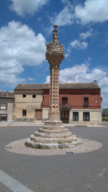 La tour juridictionnelle de Bobadilla del Camino, où justice était autrefois rendue