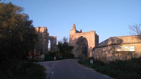 Les ruines du monastère de San Anton