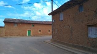 maisons en adobe, dans Reliegos