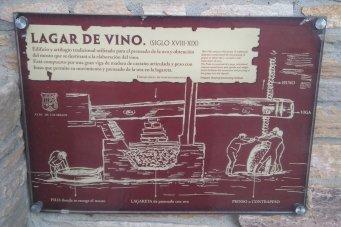 Explications sur la presse à vin...