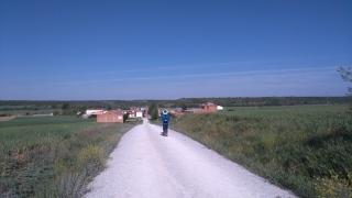 17,2 km de rien, et on arrive à Calzadilla de la Cueza, capitale palenciaise de la tortilla au jambon