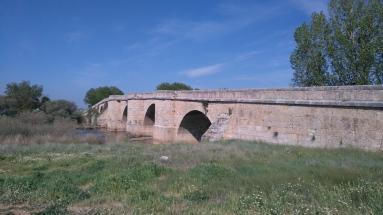 Le pont de Itero