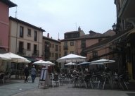 Plaza San Martin, au moins une douzaine de restaurants
