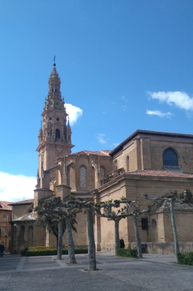 La cathédrale de Sto Domingo de la Calzada.