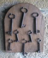 Les clés de chambres ?